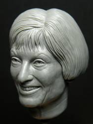 Kathy Burns 1/6 Sculpey by jesserubin