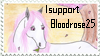 I support bloodrose25 - stamp by Lilafly