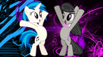 Vinly and Octavia Wallpaper