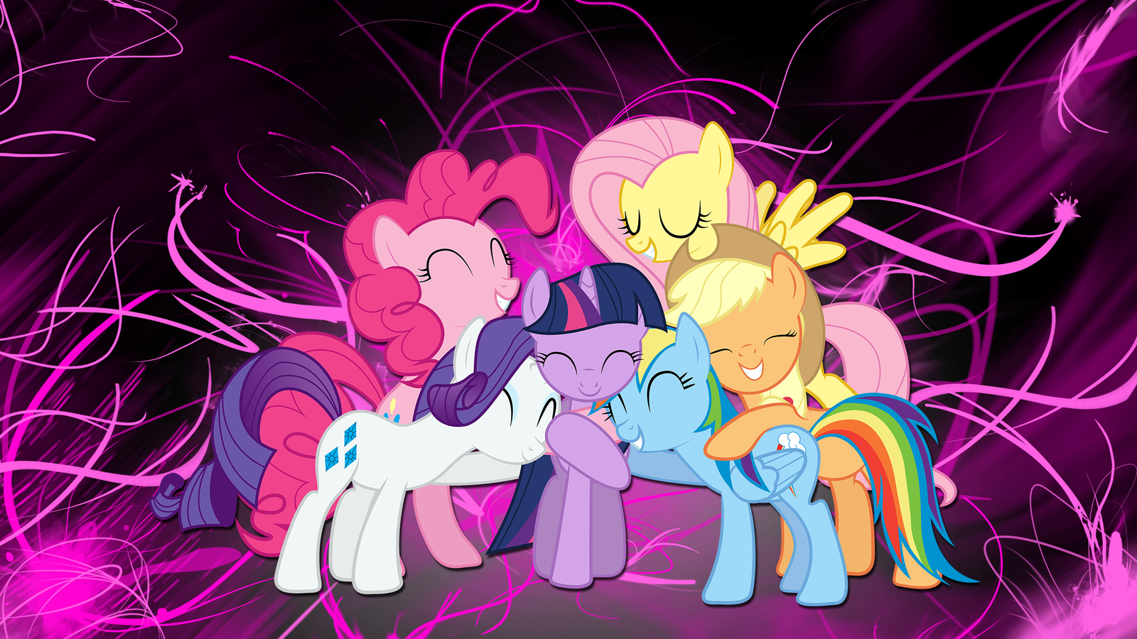 android mane 6 wallpaper - photo #9
