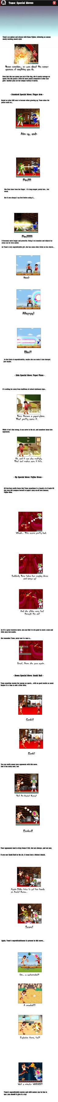 Tomo's Special Moves