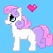 Sweetie belle pixel by LowlyWorm