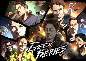 Geek Fearis - Youtubers by Dunklayth