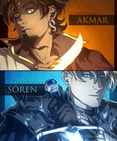 Akmar and Soren - PREVIEW by Dunklayth