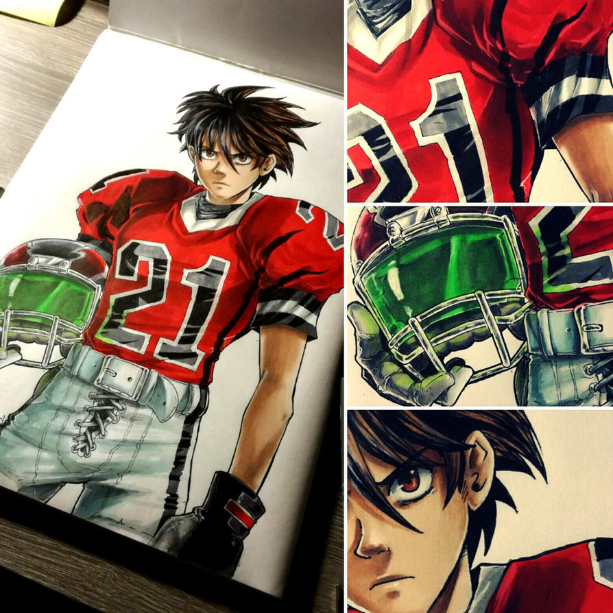 Eyesheild 21 Eyeshield: EYESHIELD 21 By Dunklayth On DeviantArt