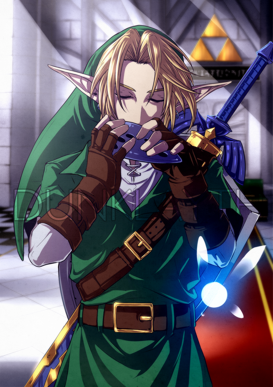 Link - COMMISSION by Dunklayth