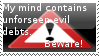 Warning by Greyhamster