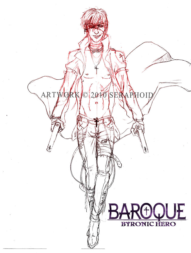 baroque oc sketch byronic hero by seraphoid on baroque oc sketch byronic hero by seraphoid