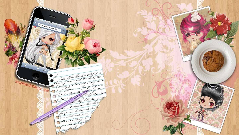 Seraphoid's Blog Backgrounds