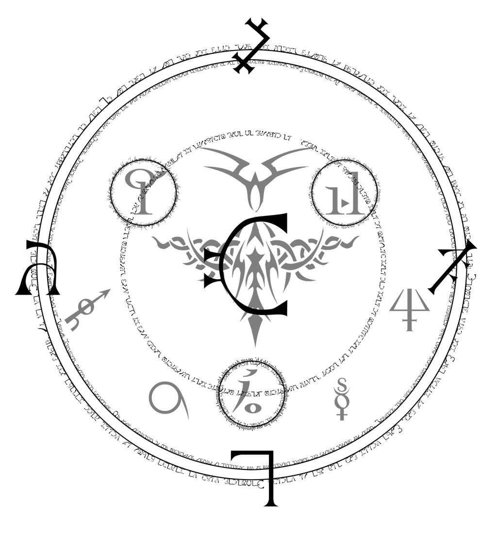 Sigil Of Binding By Seraphoid On DeviantArt