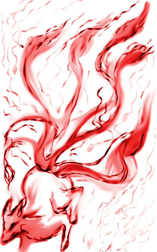 kyubi stylus practice by Seraphoid