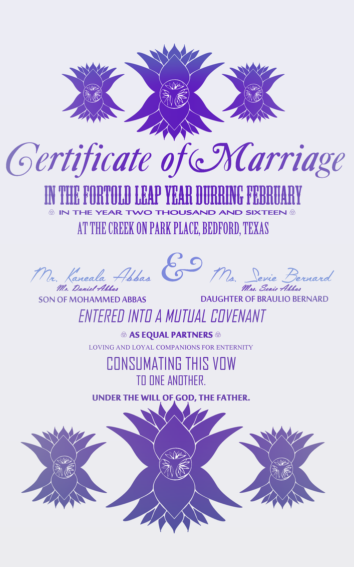married now by Seraphoid