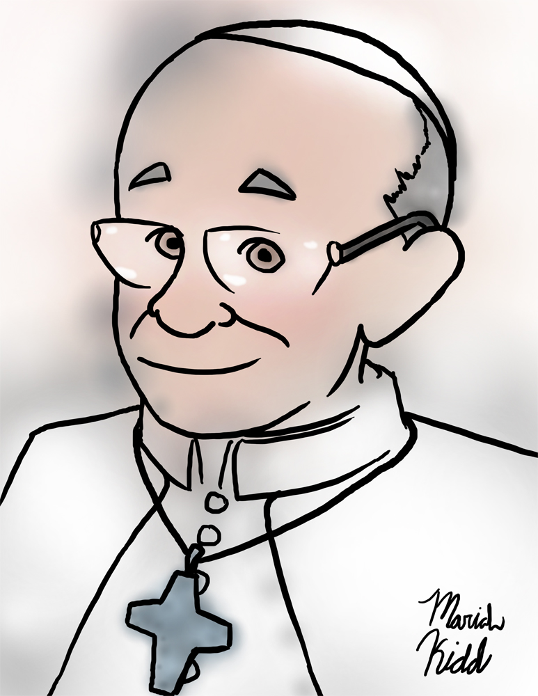 Pope Francis by Mariah-K