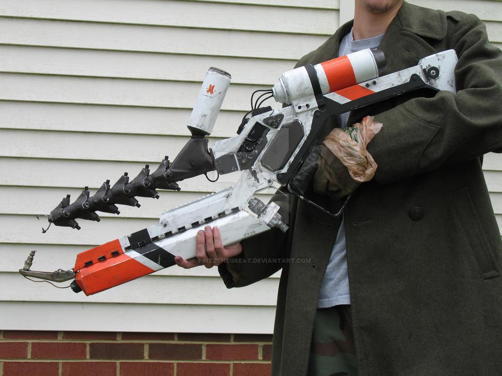 District 9 Arc Gun by FritzTheGreat