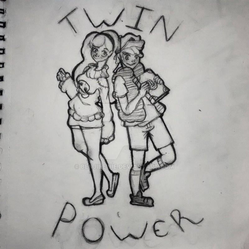 Twin Power! (WIP) by Benjilewie