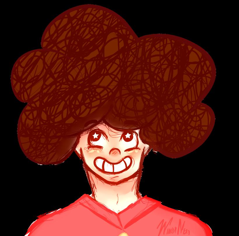 Big Hair Steven! by Benjilewie