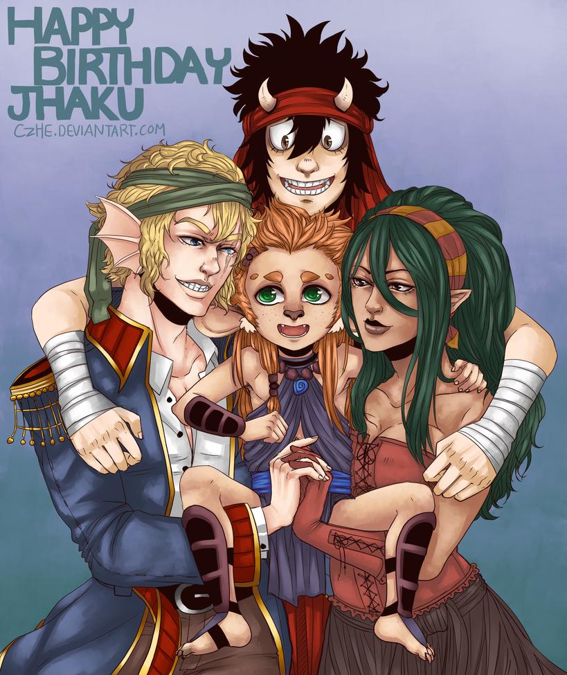 Happy Birthday Jhaku! (Year 3) by Czhe