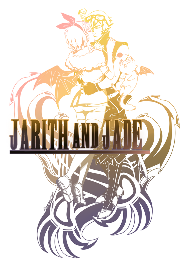 Commission - Jarith and Jade by Czhe