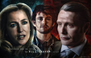 Hannibal and Bedelia (and Will) Wallpaper - STOP by thecannibalfactory