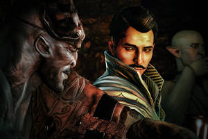 Dragon Age, An Ill-Considered Night After Drinking