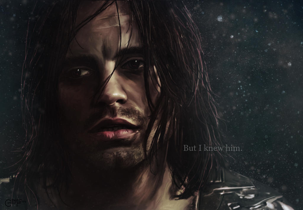 The Winter Soldier, 'But I knew him.' (wallpaper)