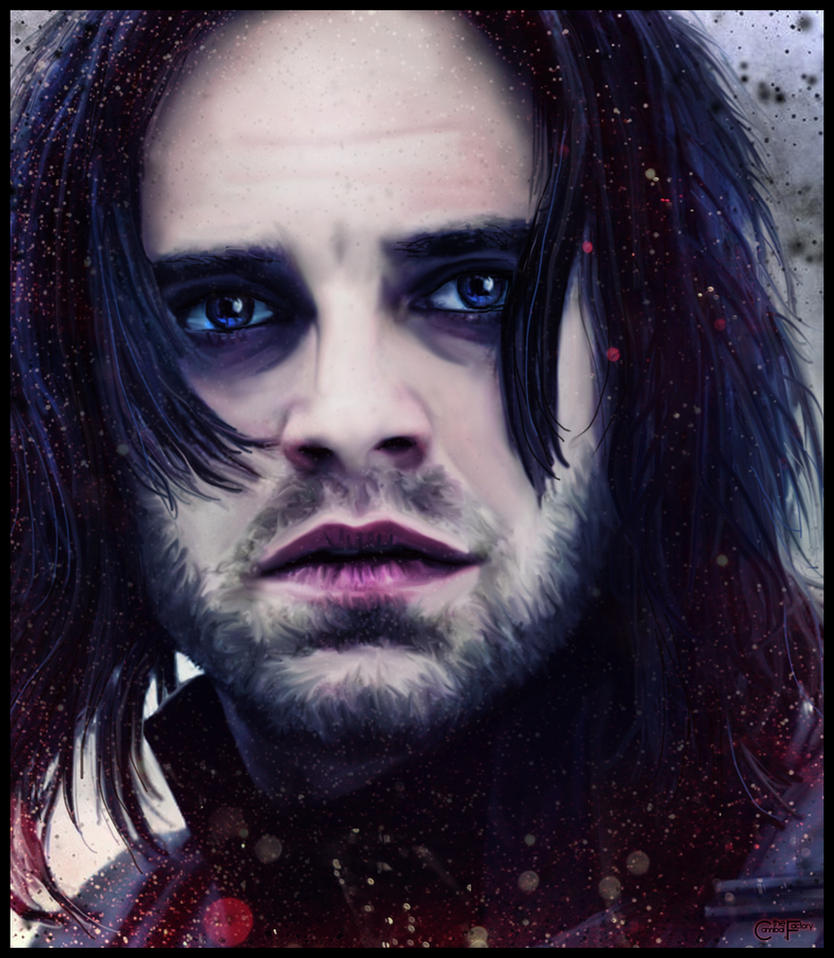 Winter Soldier Portrait by thecannibalfactory