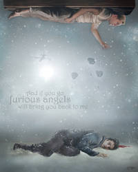 Steve and Bucky - Furious Angels by thecannibalfactory
