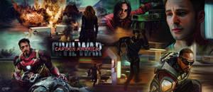 Captain America Civil War Trailer Montage Banner