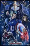Captain America Civil War Fan Poster