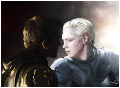 Lion and Lamb - Jaime Lannister x Brienne of Tarth