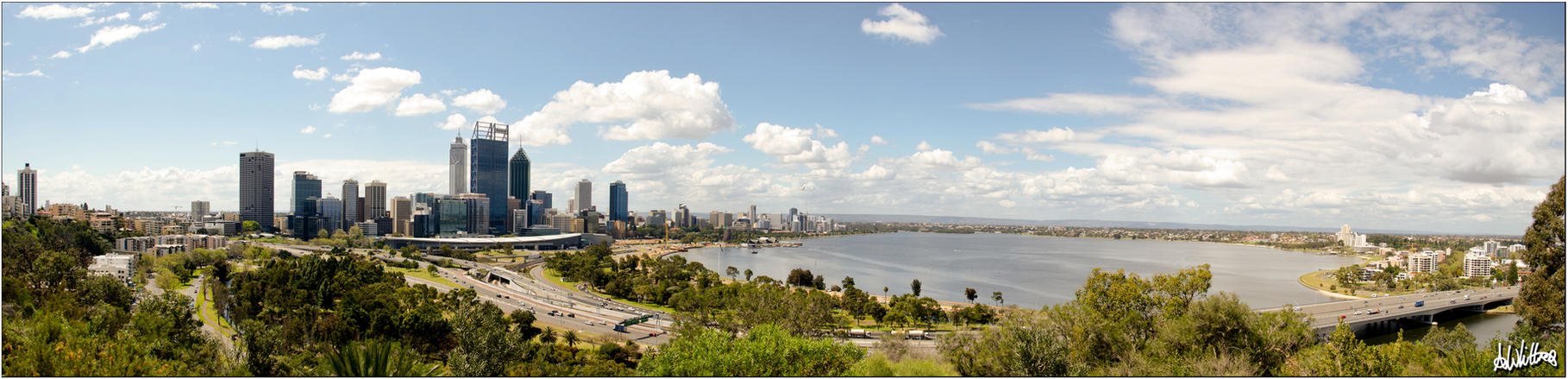 Perth Panorama by truthdenied