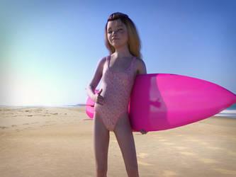 Ariadne - Surfing by redHyacinth