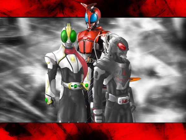 Kamen Rider Wallpaper by xero-vlade