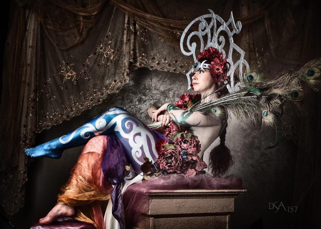 Persephone Sitting by dsa157