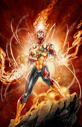 Firestorm Colored up! by Crayola-madness