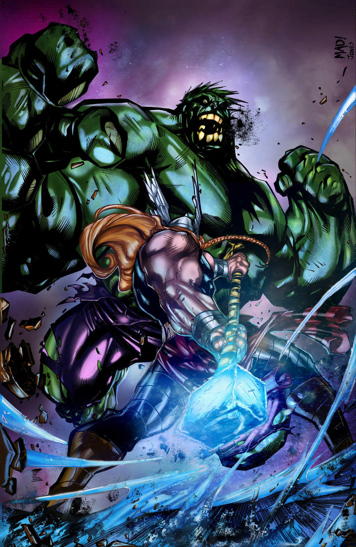 Hulk Smashem By Joe Madureira by Crayola-madness