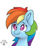 Dashie the cutest pony of equestria