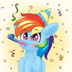 Dashie is ready to party!