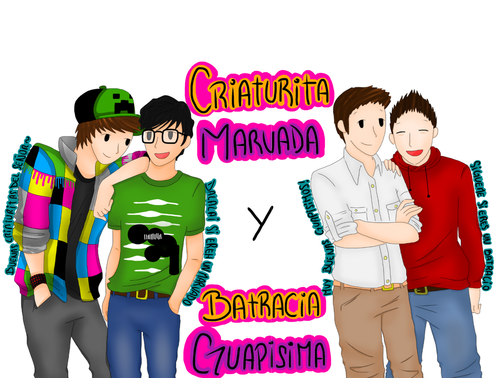 WillyRex Vegetta Mangel Y Rubius By GenerisMomo On DeviantArt - Skin para minecraft willyrex