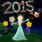 Rosalina and Luma's  New Years 2015