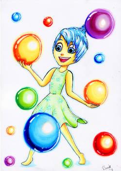 Joy - Inside out ~Marker illustration