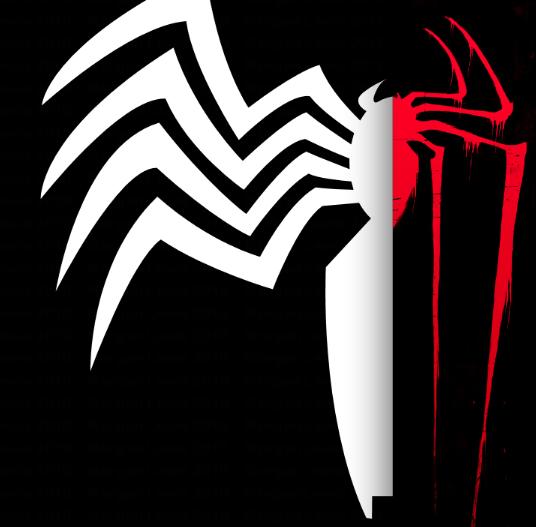 Venom spiderman symbol drawing - photo#11