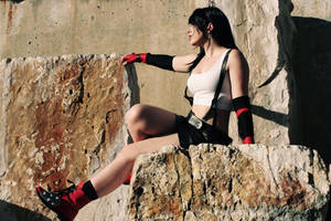Tifa - Final Fantasy VII by Lesciel