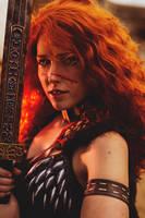 Barbarian - Diablo III by Lesciel