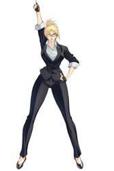 Rachel Agent VICTORY! by AkasakaYoshiki