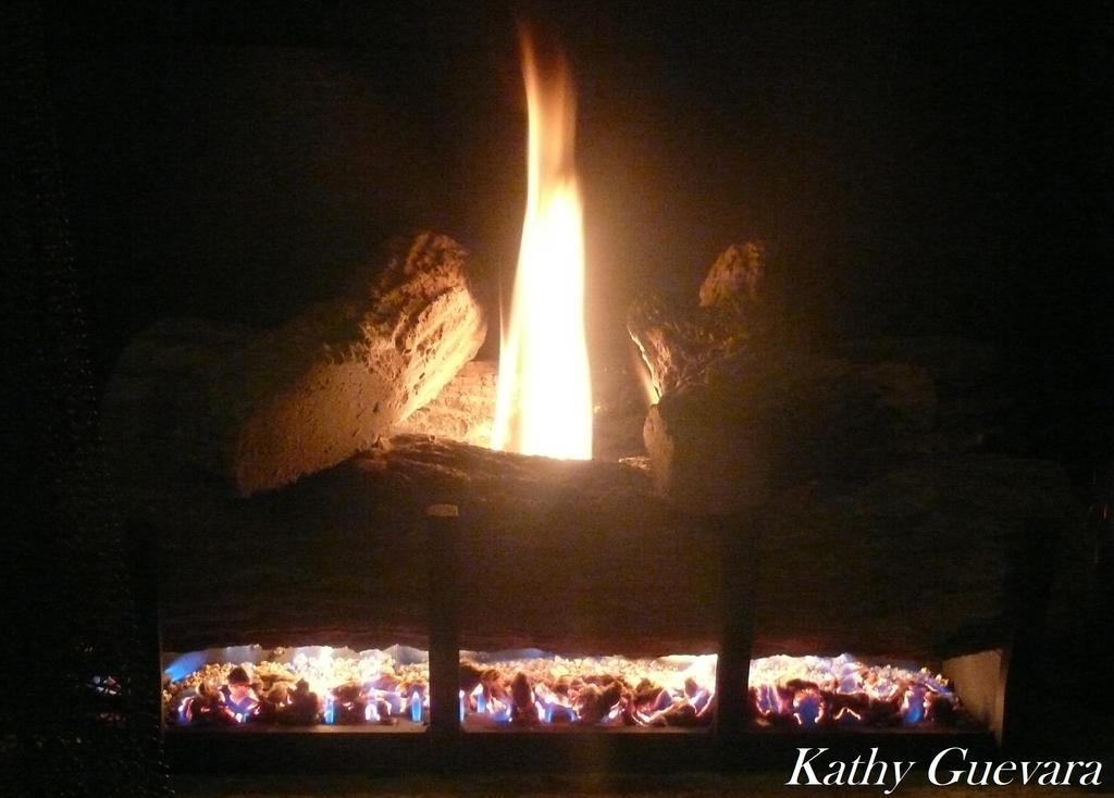 Fire place by katherine-smily-face