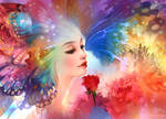 Butterfly Kisses by luciole