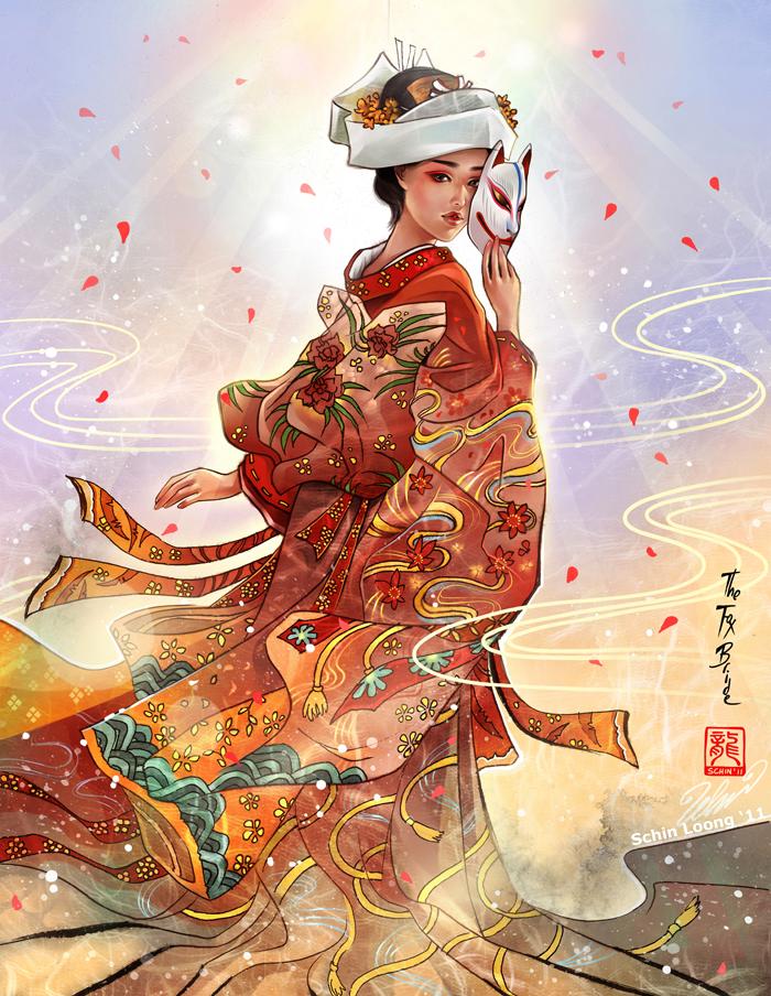 The Fox Bride by luciole