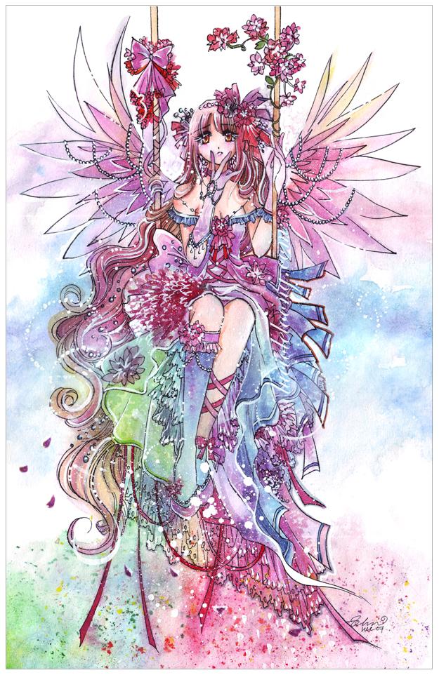 Rainbow Fairy By Luciole On Deviantart