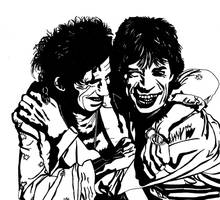 Mick And Keith by kodapops